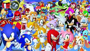 Sonic the Hedgehog Wallpaper by Ocaradeoculos on DeviantArt