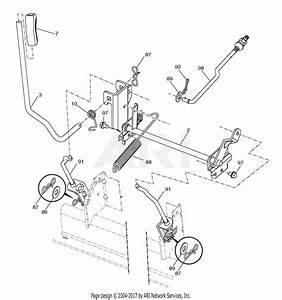 Craftsman Riding Mower 46 Deck Diagram