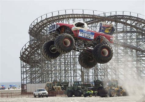 monster truck show maine monster trucks come crashing into portland this weekend