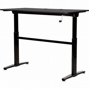Cool Living Adjustable Height Stand Desk Aluminum  Manual