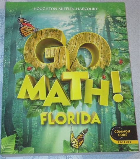 Go Math! Florida 1st First Grade 1 Common Core Student Edition New Textbook 539p Ebay