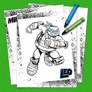 Teenage Mutant Ninja Turtles Coloring Pack Nickelodeon