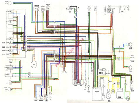 Ch 250 Electrical Wire Diagram by Diagrama Honda Xl125v Color