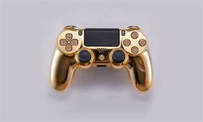 Ps4 Controller Diamond Gold Play Encrusted Complex