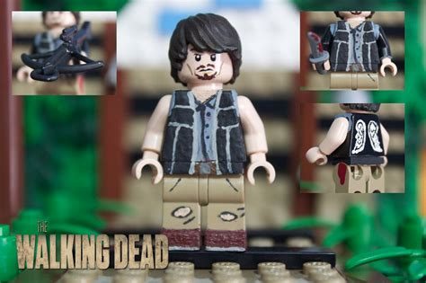 lego the walking dead lego the walking dead daryl dixon i decided to totally re flickr