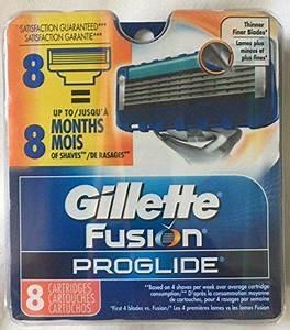 8 Gillette Fusion Proglide Razor Blades New 8 Pack 100