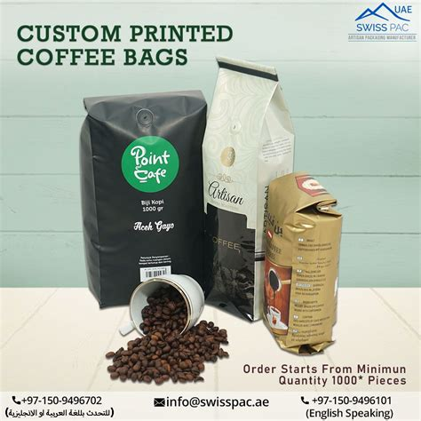 This technology ensures that coffee is kept fresh and sealed tightly inside the pouch. Custom printed coffee packaging pouches with coffee valve and tin-tie. in 2020 | Coffee shop ...