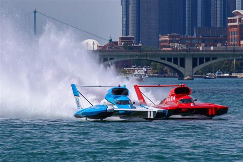 Unlimited Hydro Boats by Metro Detroit Chevy Dealers Hydrofest Hydroplane Racing