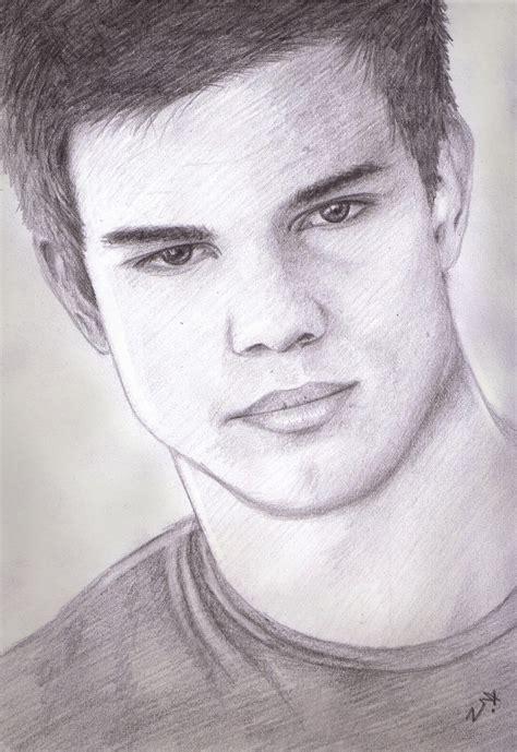 Taylor Lautner Image Drawing Drawing Skill