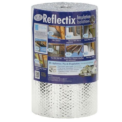 reflectix 16 in x 25 ft reflective insulation