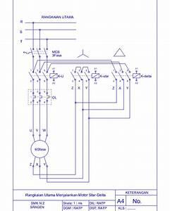 Wiring Diagram Star Delta Otomatis