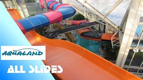 aqualand koeln  waterslides onride  youtube