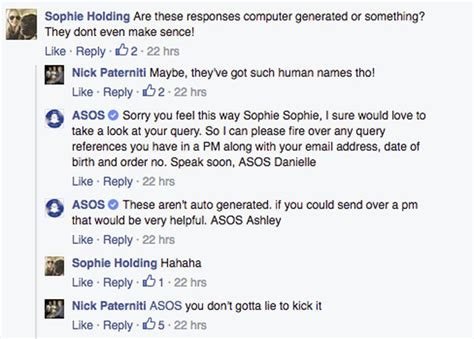asos customer service