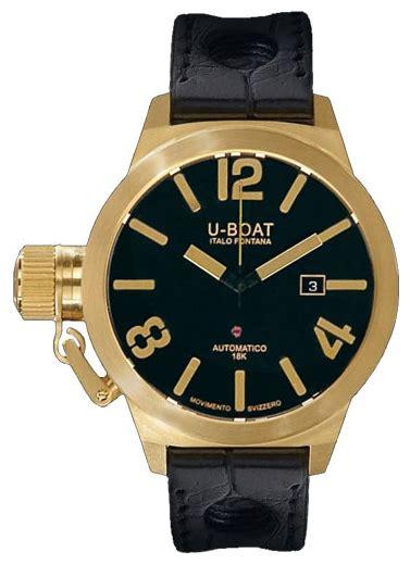 Change Time On U Boat Watch by U Boat Classico Gold 45 A 18k 18k Y Men S Watch