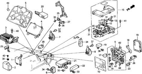 1990 Honda Civic Fuse Box by Fuse Box Relay Horn For 1990 Honda Civic 5 Door