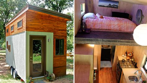 Tiny Häuser Für Studenten college student builds tiny home to graduate debt free