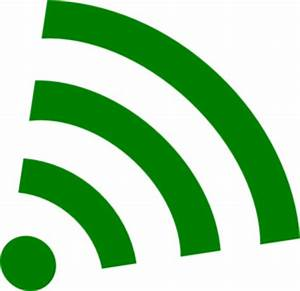Green Wifi Clip Art at Clker.com - vector clip art online ...