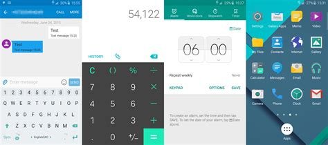 galaxy themes for android here s an early preview of the galaxy s6 stock android
