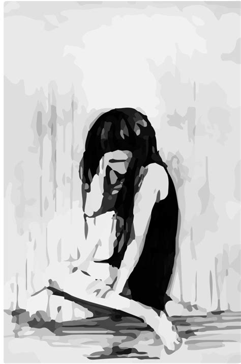 Anime Drawing Wallpaper - depressed sad anime drawing and pictures sadever