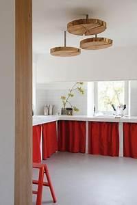 Rideau Cuisine Design : rideaux de cuisine rouge sur pinterest rideaux de la cuisine d cor de cuisine rouge et ~ Teatrodelosmanantiales.com Idées de Décoration