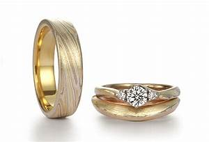 mokume gane rings by kunio takada With wedding rings japan
