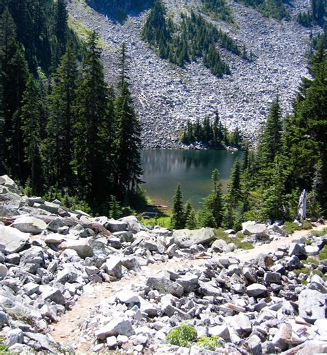 Stevens Pass To Snoqualmie Pass, Washington State The