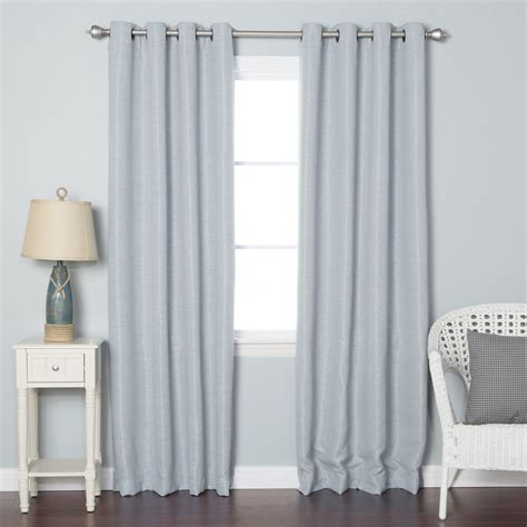 Best Curtain Panels by Best Home Fashion Inc Shimmery Basketweave Grommet Top
