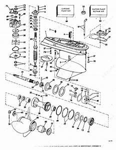 Johnson 1978 140 - 140tx78c  Gearcase