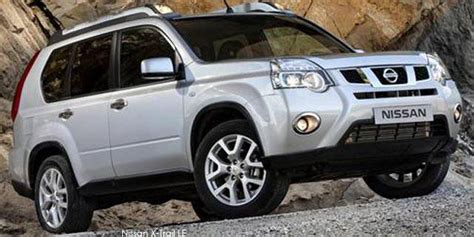 nissan  trail dci  se specs  south africa cars