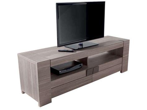 conforama canapé pas cher meuble tv 182 cm atlanta coloris chêne fusain vente de