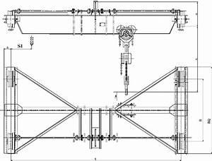 Sdq Hand Operated Single Girder Travelling Overhead Crane