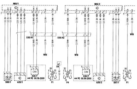 Mercedes Benz Wiring Diagrams Power Locks