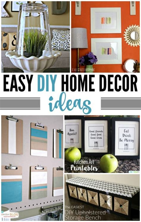 easy diy home decor ideas todays creative life