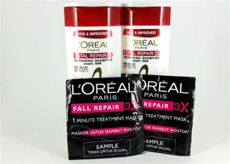 Coba Dan Review L'oreal Paris Total Repair 5 Repairing