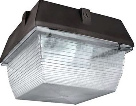Led Canopy Light Fixtures by Led Square Canopy Light Led Square Parking Garage Canopy
