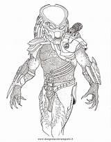 Predator Coloring Pages Predators Alien Drawing Drawings Mr Vs Draw Deviantart Sketch Print Cool Aliens Template Super sketch template