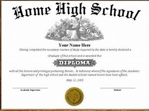 high school diploma template mobawallpaper With free fake high school diploma templates