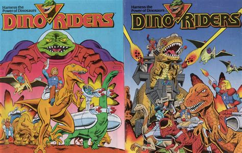 """Draw my life is a story of one of the biggest cartoon monster. """"Dino-Riders"""""""