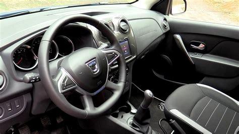 Interior New Dacia Sandero Stepway 2017 Medianav