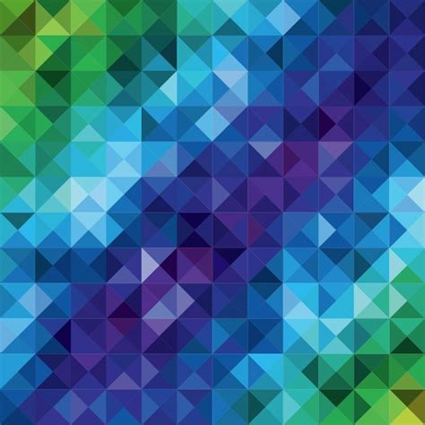 colorful mosaic pattern abstract background vector