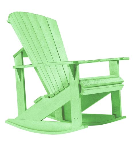 generations lime green adirondack rocking chair from cr