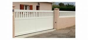 Portail 4 5 M Coulissant : portail coulissant sur mesure 1 3 ajour ~ Edinachiropracticcenter.com Idées de Décoration