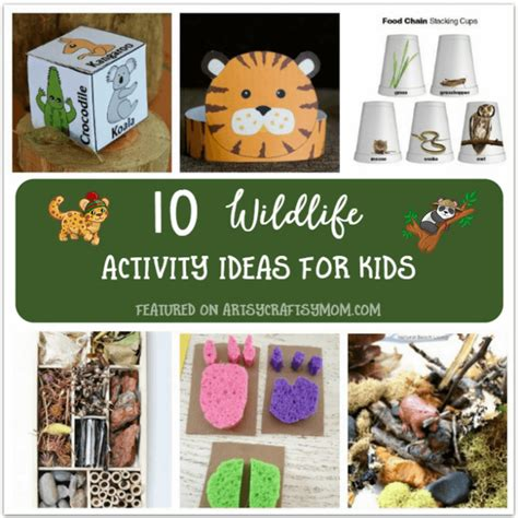 10 wildlife theme activities for to do at home 458 | Wildlife Activity Ideas for Kids