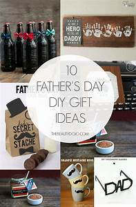 10 Father's Day DIY Gift Ideas - The Beautydojo