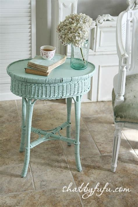 shabby chic wicker shabby chic side tables and tables on pinterest