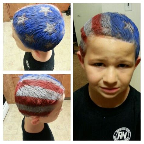 Easy To Do Patriotic Hair For Crazy Hair Day All You Need