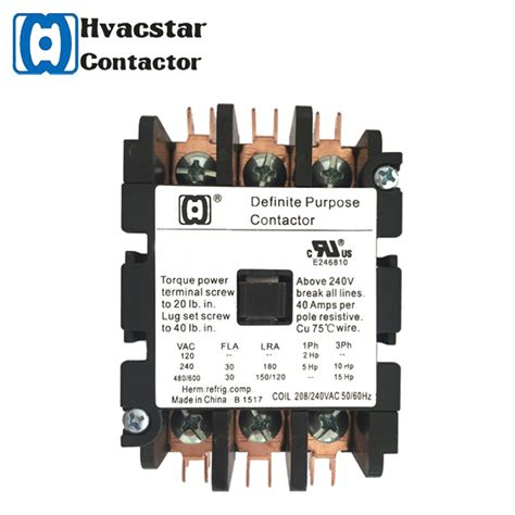 china best selling products electrical magnetic dp ac types of contactor 3p 25a 24v for air