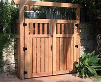 fence gate design Wood Fence Gate Designs for Your Garden Plans custom wood ...