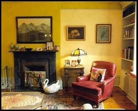 Interior ideas for brightening your room with the yellow paint