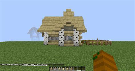 birch house design needed survival mode minecraft java edition minecraft forum